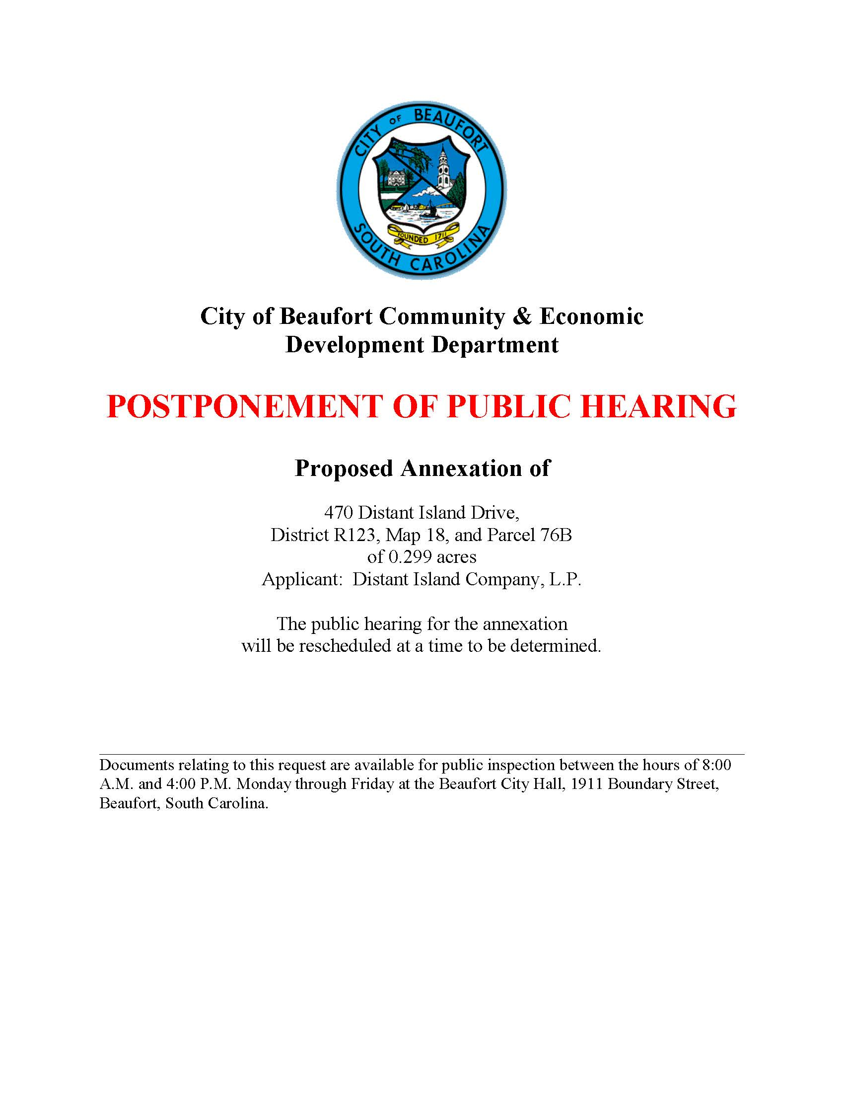 Distant island drive_annexation_Notice of public hearing_reschedule (003)