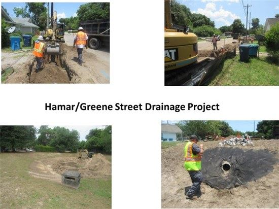 Hamar and Green Street Drainage Project (PDF)