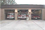 Central Headquarters Fire Truck Bay